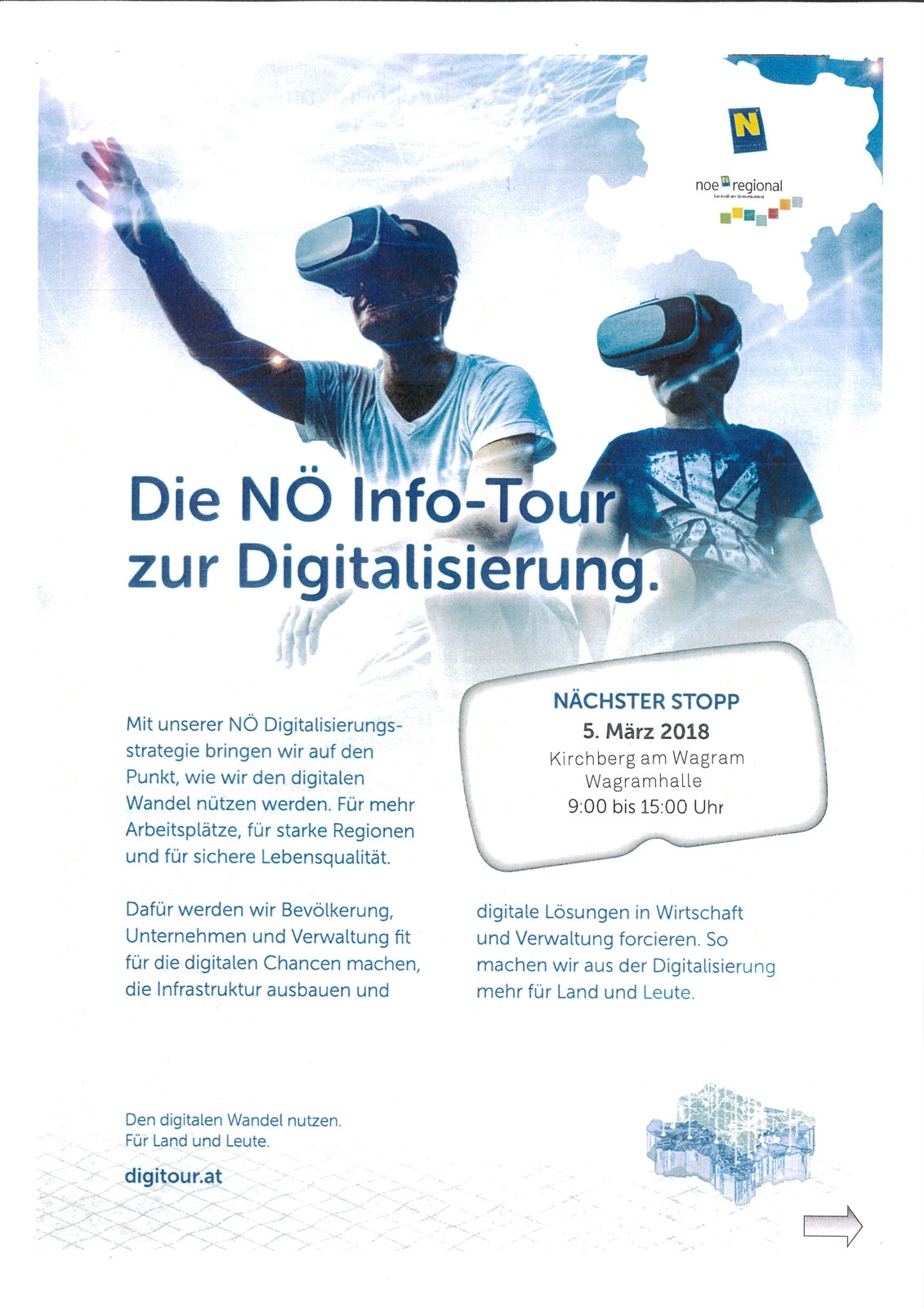 Digi Bus in Kirchberg am Wagram