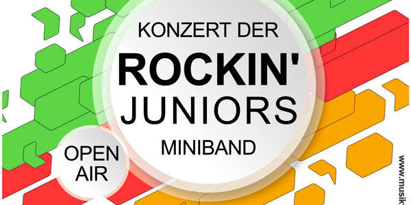 Open-Air Konzert Rockin' Juniors - Musikverein Kirchberg am Wagram
