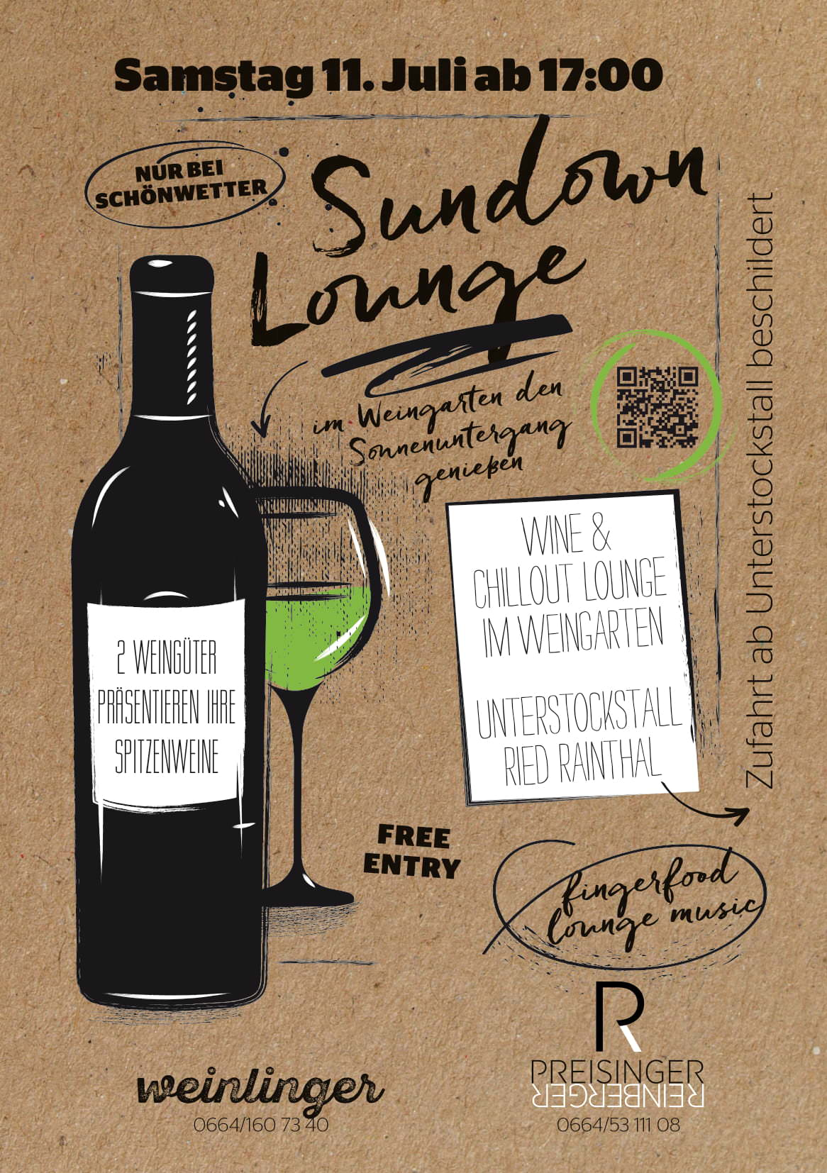 Sundown lounge am 11. Juli ab 17:00