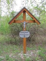 Hochwasser-Kreuz
