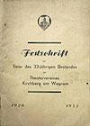 Festschriften & Broschüren Kirchberg am Wagram